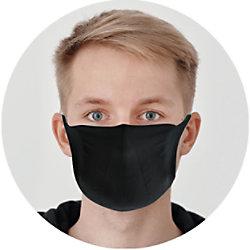 Schäfer Mundschutzmaske Waschbar Schwarz 12052