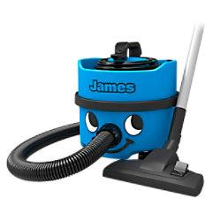 Numatic Staubsauger James JVH187-1 Blau TriTex 8 L 620 W JVH-187-11