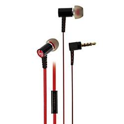 Vivanco URB 30 Kopfhörer Verkabelt Unter dem Ohr Rot mit Mikrofon 37575