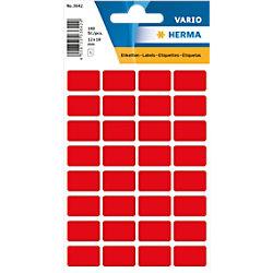HERMA 3642 Mehrzwecketikett Gemischt 12 x 18 mm 10 Pack à 1600 Etiketten