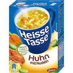 Heisse Tasse Suppe Hähnchencreme 3 Stück R03923