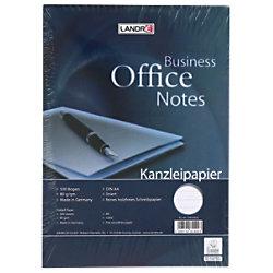 LANDRÉ A4 liniertes Kanzleipapier A4 80 g/m² Weiß 500 Blatt 100050626