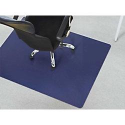 Bürostuhlunterlage Teppich Floordirekt Pro Teppich Dunkelblau Polypropylen 1200 x 1500 mm fd-16364
