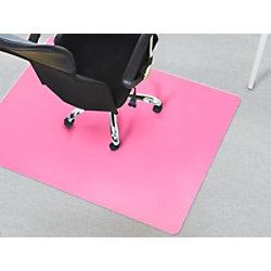 Bürostuhlunterlage Teppich Floordirekt Pro Teppich Rosa Polypropylen 1200 x 1500 mm fd-16358