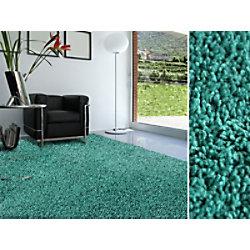 Shaggy-Teppich floori TEPPICHE Türkis Polypropylen 2000 x 2900 mm fd-18402