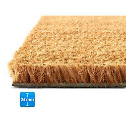 Fußmatte PALMERAS Kokos Natur Kokosfaser, Vinyl 24 mm 800 x 500 mm fd-15872