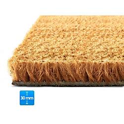 Fußmatte PALMERAS Kokos Natur Kokosfaser, Vinyl 30 mm 400 x 600 mm fd-15743