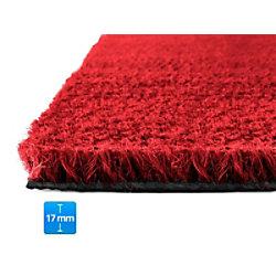 Fußmatte PALMERAS Kokos Rot Kokosfaser, Vinyl 17 mm 400 x 600 mm fd-15860