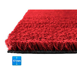 Fußmatte PALMERAS Kokos Rot Kokosfaser, Vinyl 17 mm 800 x 1000 mm fd-15864