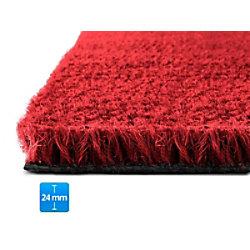 Fußmatte PALMERAS Kokos Rot Kokosfaser, Vinyl 24 mm 800 x 1000 mm fd-15893