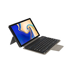 Gecko Covers Tastaturcover AZERTY für Samsung Galaxy TAB A 10.5 Schwarz 40-42-8699
