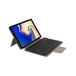 Gecko Covers Tastaturcover QWERTZ für Samsung Galaxy TAB A 10.5 Schwarz 40-41-9265