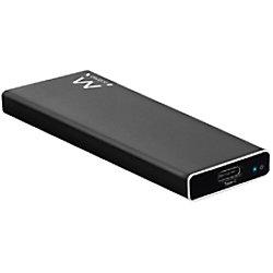 ewent EW7024 Tragbares USB-C 3.1 Gen2 M.2 NVMe SSD-Gehäuse