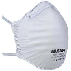 M-Safe Mundschutzmaske FFP2 Weiß 20 Stück 6220