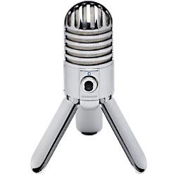 SAMSON Verkabeltes USB-Studio-Mikrofon METEOR Silber SAMTR