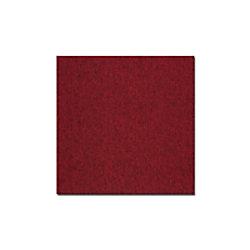 Teppichfliese Casa Pura Vienna Rot Polypropylen, Bitumen 500 x 500 mm fd-23531