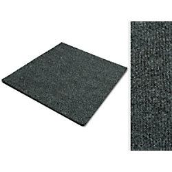 Teppichfliese Casa Pura Can Can Grau Polypropylen, Bitumen, Latex 500 x 500 mm fd-8864