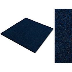 Teppichfliese Casa Pura Can Can Blau Polypropylen, Bitumen, Latex 500 x 500 mm fd-9881