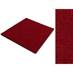 Teppichfliese Casa Pura Can Can Rot Polypropylen, Bitumen, Latex 500 x 500 mm fd-8859