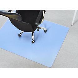 Bürostuhlunterlage Floordirekt Pro Teppich Blau Polypropylen 750 x 1200 mm fd-7710
