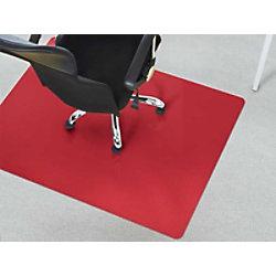 Bürostuhlunterlage Floordirekt Pro Teppich Rot Polypropylen 750 x 1200 mm fd-7694