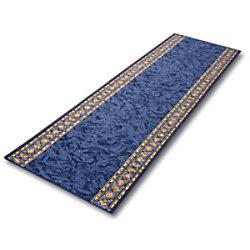 Teppich-Läufer Floordirekt STEP Rügen Blau Polyamid 800 x 1500 mm fd-10431-80x150