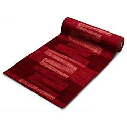 Teppich-Läufer Floordirekt STEP Via Veneto Rot Polyamid 670 x 1000 mm fd-12637-67x100