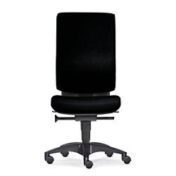 Bürostuhl Sitwell Cube M Schwarz Lendenwirbelstütze Stoff 130 kg SY-17.100-M-75-109-00-44-10