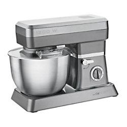 Clatronic Küchenmaschine KM 3630 1200 W Edelstahl Grau 263739