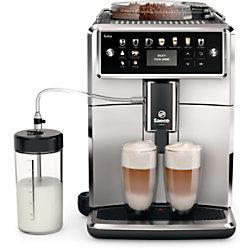 Philips Kaffeemaschine Saeco Xelsis SM7581/00 Schwarz, Silber