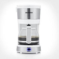 Severin Kaffeemaschine KA 4809 Rostfreier Stahl, Weiß
