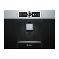 Bosch Eingebaute vollautomatische Kaffeemaschine Serie CTL636ES1 Schwarz