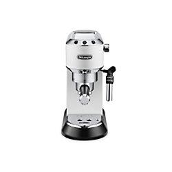 De'Longhi Delonghi Espressomaschine Dedica Style EC 695.W Weiß EC695.W