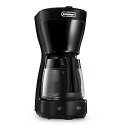 De'Longhi Delonghi Filterkaffeemaschine ICM16210.BK Schwarz