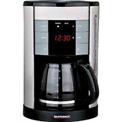 Gastroback Kaffeemaschine 42703 Silber