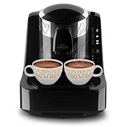Arzum OKKA Arzum Türkische Kaffeemaschine OKKA OK002 Schwarz, Silber