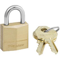 Master lock Vorhängeschloss mit 1 Schlüssel 120EURD Stahl 2 cm x 2 cm Grau