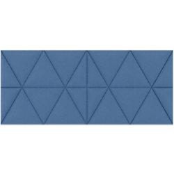 Paperflow Akustikplatte EasySound Stoff 1120 x 485 mm Blau PA485X1120.06