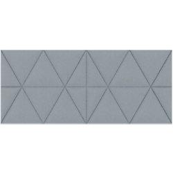 Paperflow Akustikplatte EasySound Stoff 1120 x 485 mm Grau PA485X1120.02