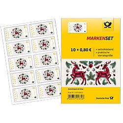 Deutsche Post Briefmarken 0,80 € 10 Stück 152302012