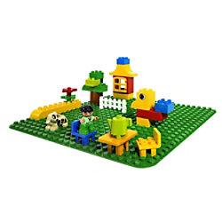 LEGO Duplo Große grüne Bauplatte 2304 Bauplatte 1.5+ Jahre
