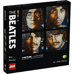 LEGO ART Das Beatles-Sammlerstück Kreative Beatles-Leinwand-Wandkunst 31198 Puzzle 18+ Jahre