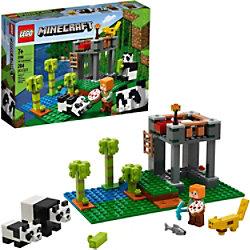 LEGO MineCraft Das Panda Nursery Construction Toy 21158 Bauset 7+ Jahre