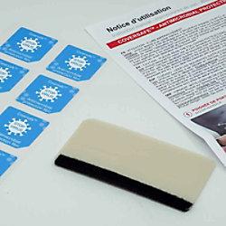 COALA Coversafe Antimikrobielle Folie 165 x 70 mm 30 Stück 575680