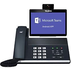 Yealink VoIP Videotelefon VP59-Teams Edition Schwarz Schnurgebunden