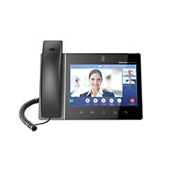 GRANDSTREAM VoIP Videotelefon GXV-3380 Schwarz Schnurgebunden