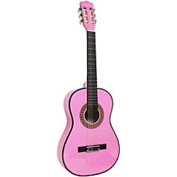 PDT Martin Smith Klassische Akustikgitarre - Pink W-560-PNK