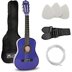 PDT Music Alley Junior Class Gitarre Blau MA-52