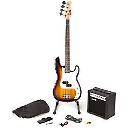PDT RockJam Bassgitarre Super Kit - Sun RJBG01-SK-SB