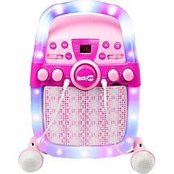 PDT RockJam CD und BT Karaoke Mac Pink RJPS2002-PK
